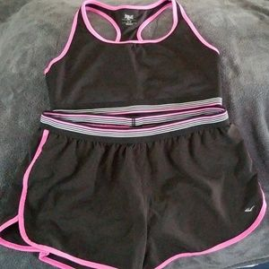 Everlast swim shorts and tank top